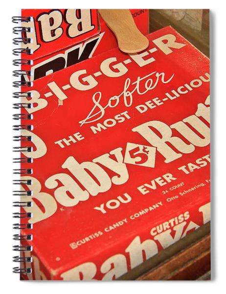 Baby Ruth Spiral Notebook