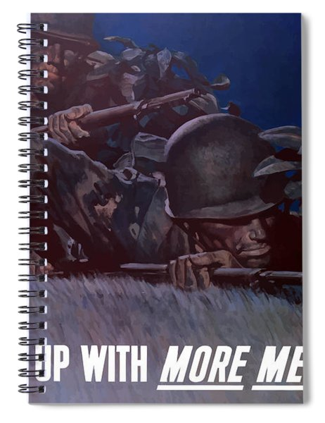 Back 'em Up -- Ww2 Spiral Notebook