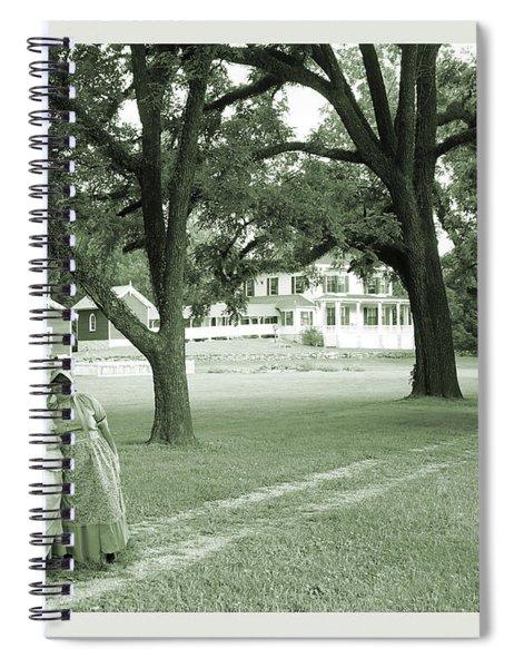 Back In Time At Hardman Farm Spiral Notebook