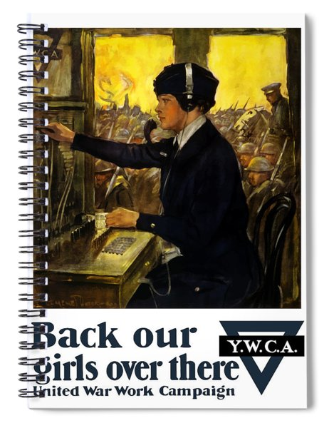 Back Our Girls Over There Spiral Notebook