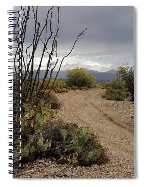 Back Road, Arizona Spiral Notebook