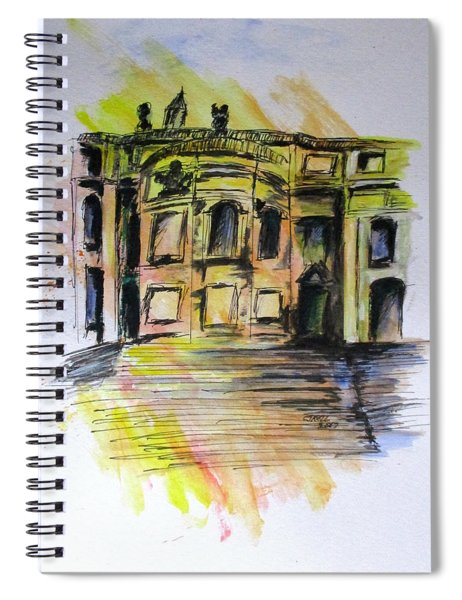 Back Side Basilca St Mary Major Spiral Notebook