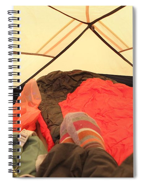 Backpacking Moments Spiral Notebook