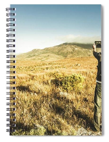 Backpacking Wonders Spiral Notebook