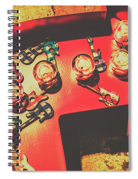 Backstage Pass Spiral Notebook