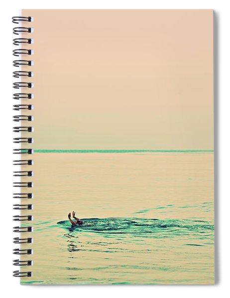 Backstroke Spiral Notebook