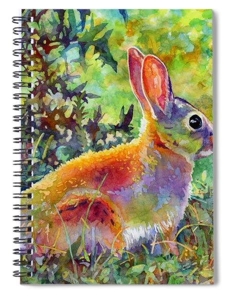 Backyard Bunny Spiral Notebook