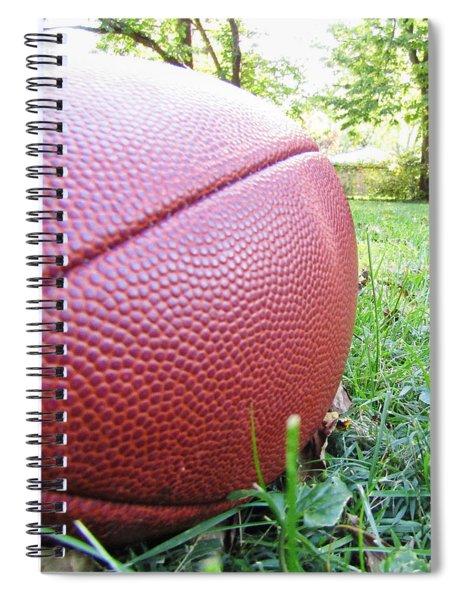 Backyard Football Spiral Notebook