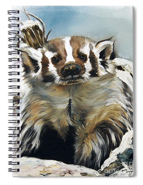 Badger - Guardian Of The South Spiral Notebook
