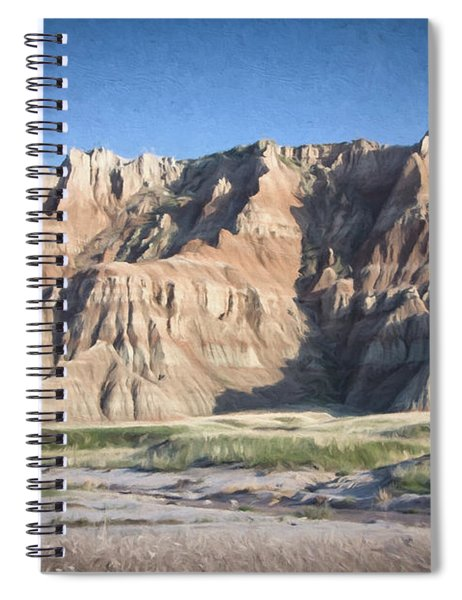 Badlands Spiral Notebook