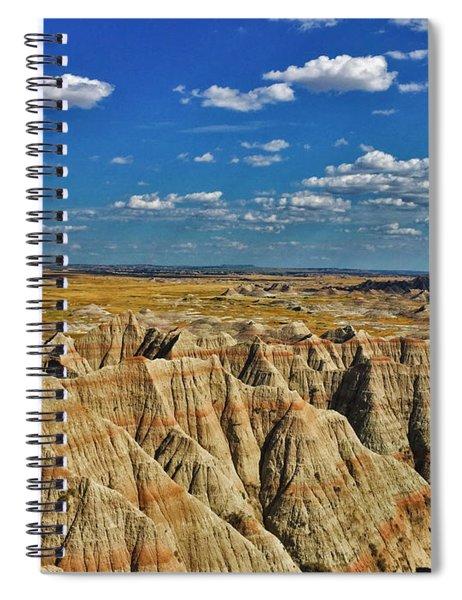 Badlands To Plains Spiral Notebook