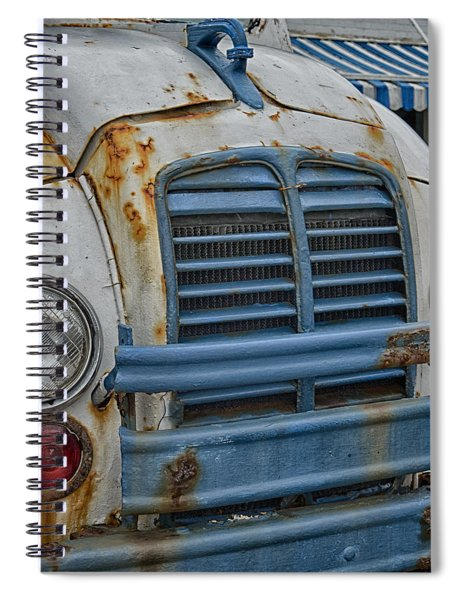 Badly Bruised Divco Spiral Notebook