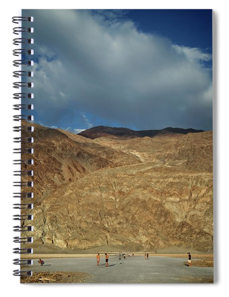 Badwater Hike Spiral Notebook