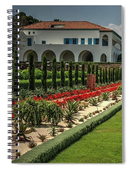 Baha'i Gardens 1 Spiral Notebook