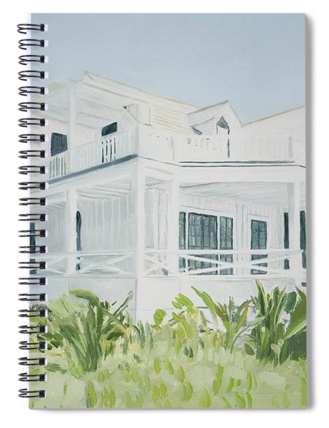 Bahamian House, 2004 Spiral Notebook