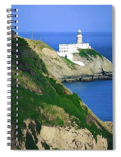 Baily Lighthouse, Howth, Co Dublin Spiral Notebook