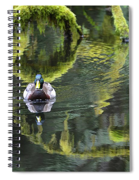 Bainbridge Duck Spiral Notebook