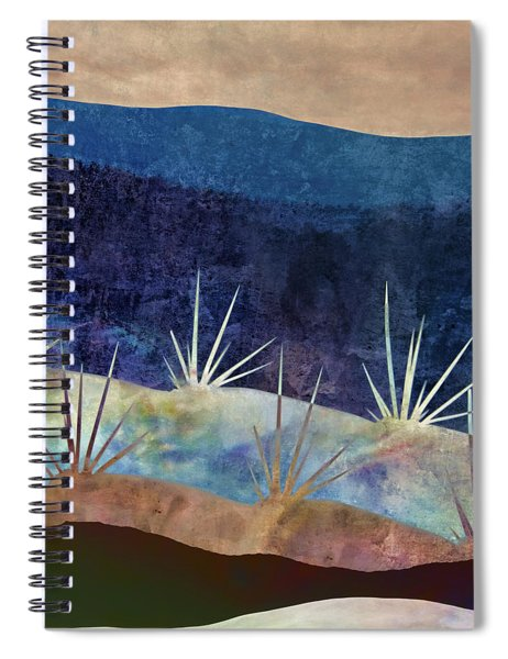 Baja Landscape Number 2 Spiral Notebook by Carol Leigh
