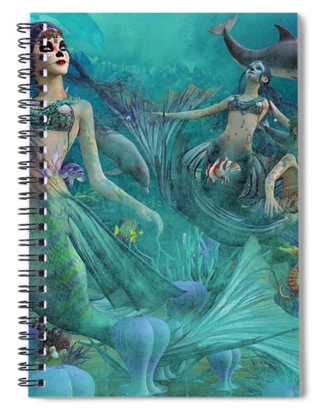 Bajo El Mar De Los Muertos  Spiral Notebook