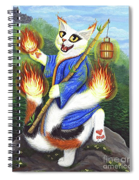 Bakeneko Nekomata - Japanese Monster Cat Spiral Notebook