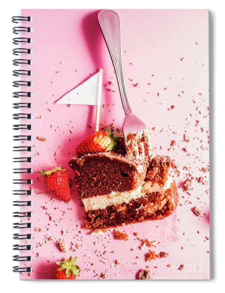 Bakers Downfall Spiral Notebook