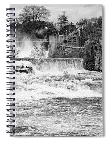 Bakers Falls Spiral Notebook
