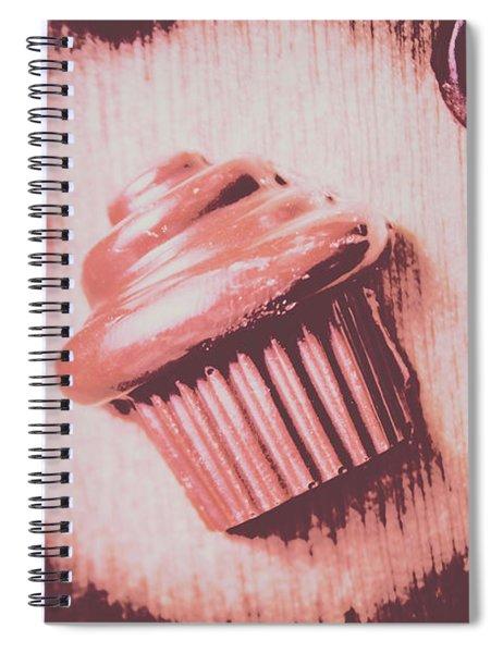 Baking Chocolate Cupcake Spiral Notebook
