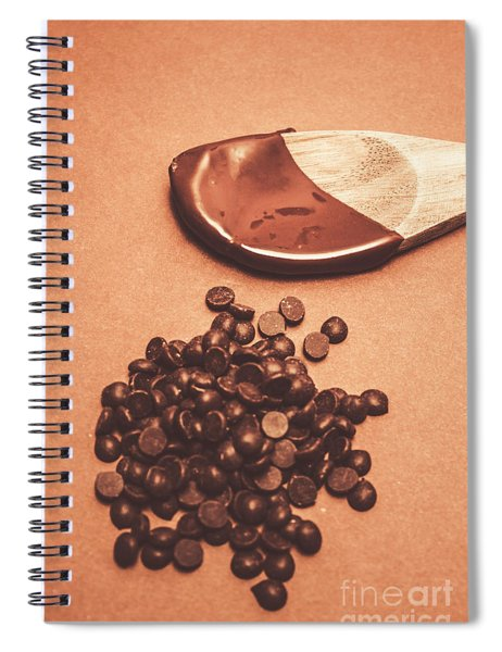 Baking Desserts With Chocolate Spiral Notebook