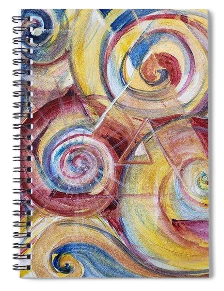 Balanced Awakening Spiral Notebook