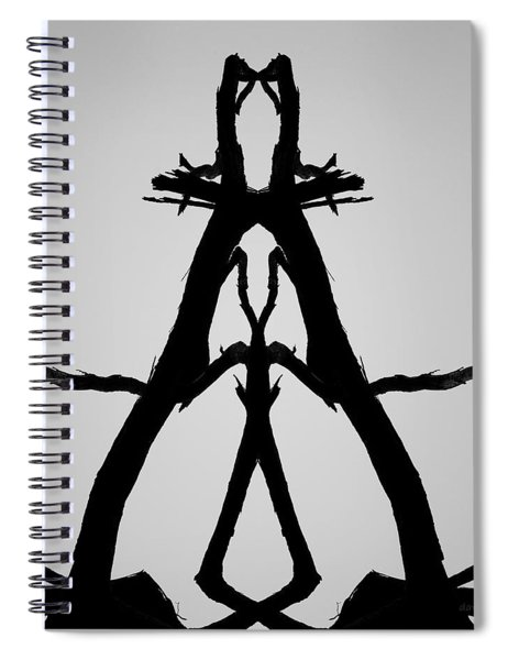 Balanced I Bw Spiral Notebook