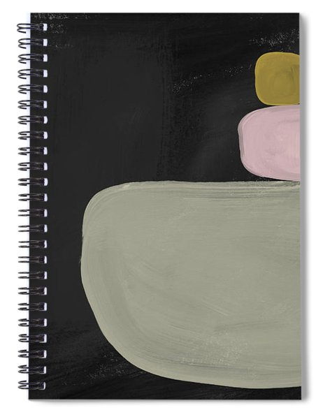 Balanced Modern- Art By Linda Woods Spiral Notebook
