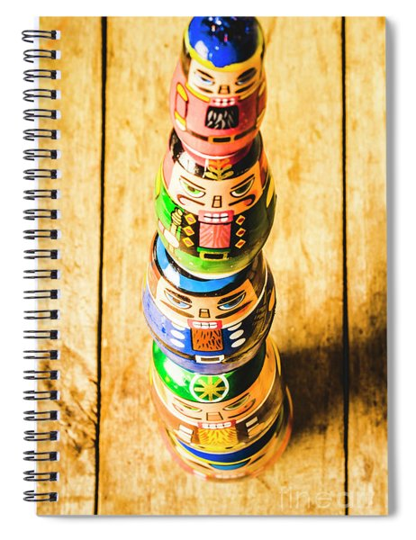 Balancing The Command Structure Spiral Notebook