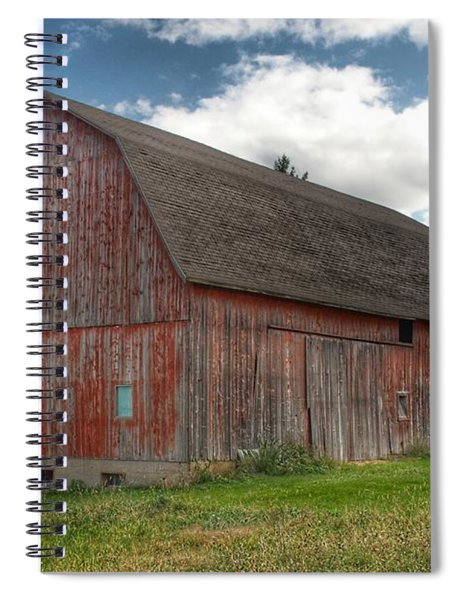 0003 - Baldwin Road Red I Spiral Notebook