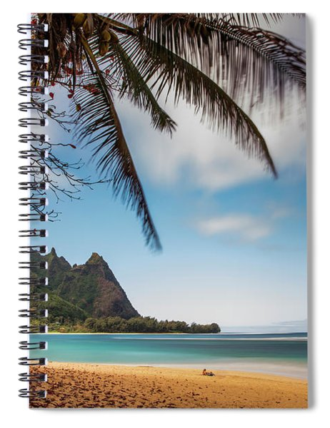 Bali Hai Tunnels Beach Haena Kauai Hawaii Spiral Notebook