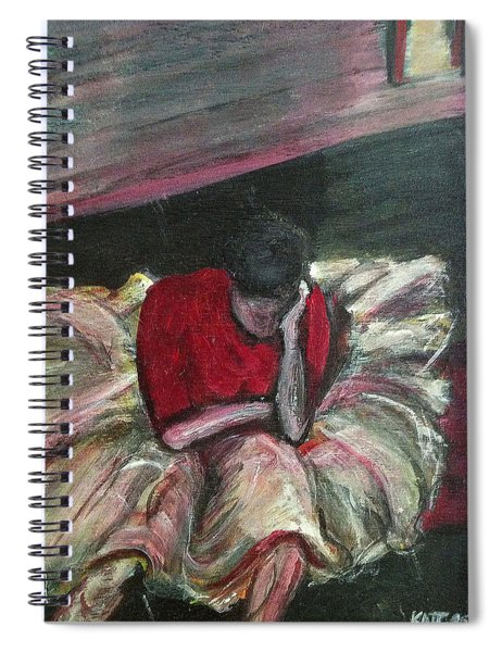 Ballerina After Practice Spiral Notebook