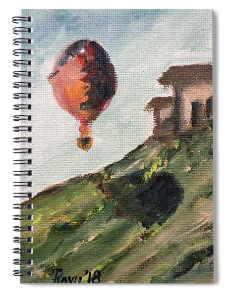 Balloon By The Tasting Room Spiral Notebook