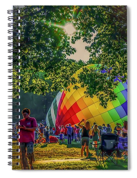 Balloon Fest Spirit Spiral Notebook