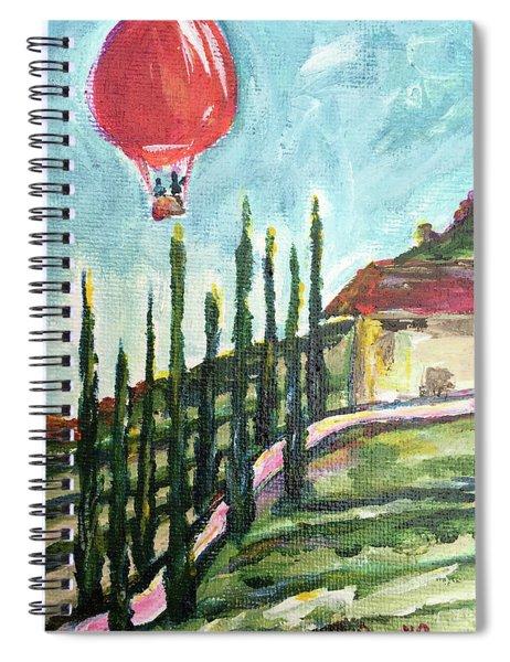 Balloon Over Faulkner Spiral Notebook