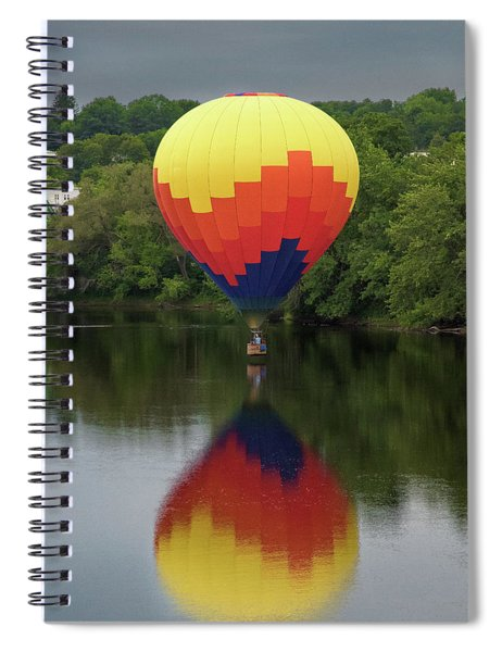 Balloon Reflections Spiral Notebook
