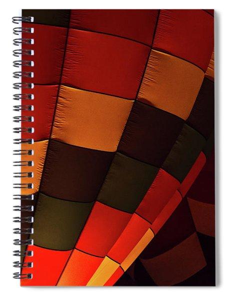 Balloons Over Angel Fire Spiral Notebook