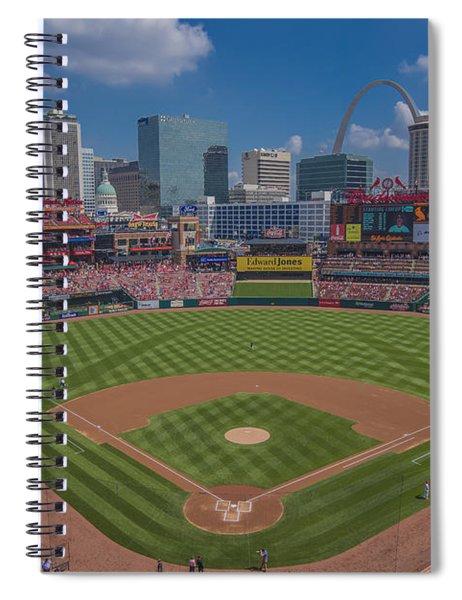 Ballpark Village Cardinal Nation Busch Stadum St. Louis Cardinals April 2015 #2 Spiral Notebook
