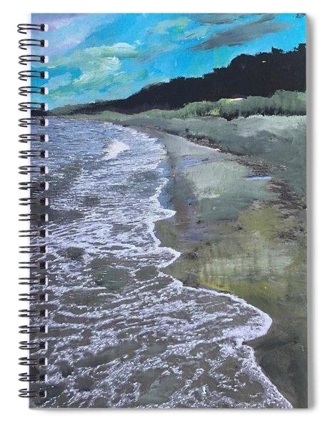 Baltic Sea Spiral Notebook