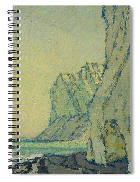 Baltic Sea Cliffs Spiral Notebook