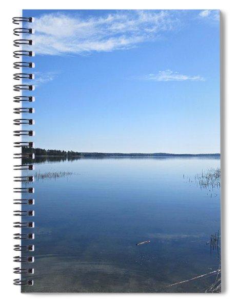 Baltic Sea Near Stensund Spiral Notebook