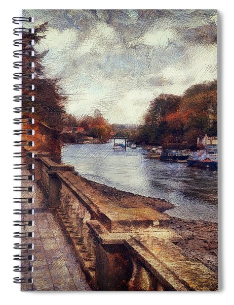 Balustrades And Boats Spiral Notebook