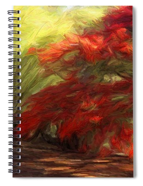 Bamboo And The Flamboyant Spiral Notebook