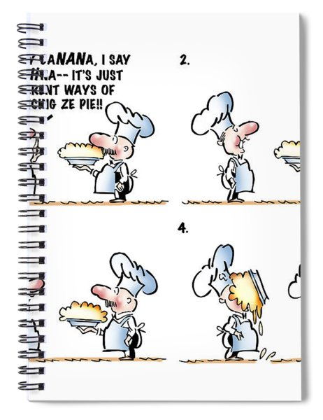 Banana Cream Pie Spiral Notebook