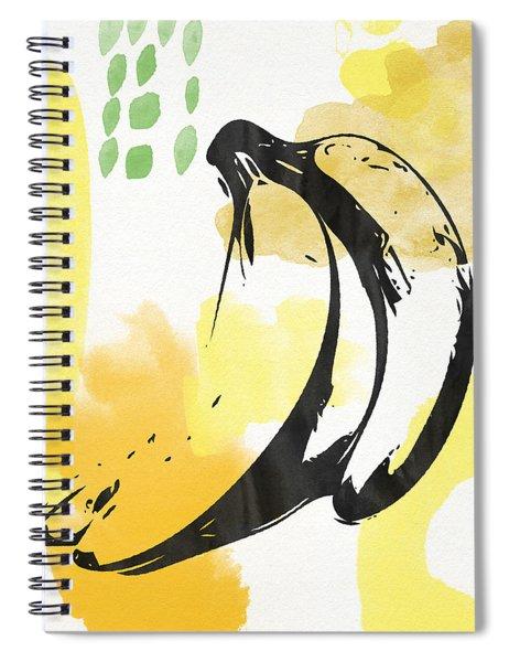 Bananas- Art By Linda Woods Spiral Notebook