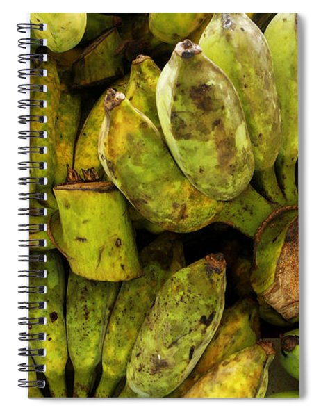 Bananas At Market Spiral Notebook