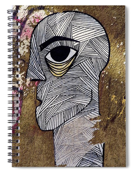 Bandage Man Spiral Notebook